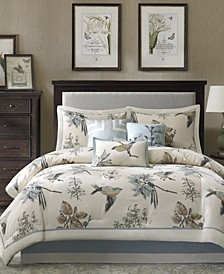 Quincy 7-Pc. Queen Comforter Set