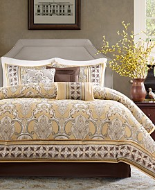 2656b3ff7035 Madison Park Gold Bed in a Bag and Comforter Sets: Queen, King ...