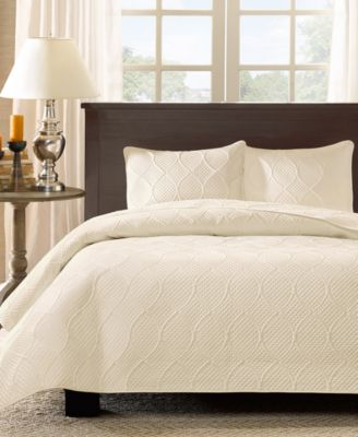 Corrine 3-Pc. Quilted King Bedspread Set