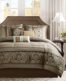 Ophelia 7-Pc. California King Comforter Set