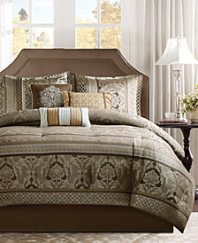 Madison Park Bellagio 7-Pc. Queen Comforter Set