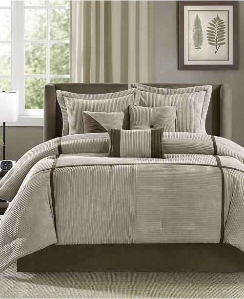 Madison Park Dallas 7-Pc. Comforter Sets