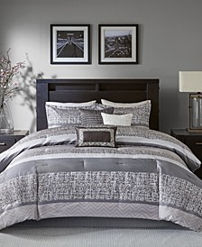 Rhapsody 7-Pc. Queen Comforter Set