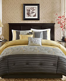Serene 7-Pc. King Comforter Set