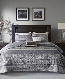 Rhapsody 6-Pc. Full/Queen Coverlet Set