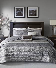Madison Park Rhapsody 6-Pc. Full/Queen Coverlet Set
