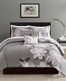 Madison Park Serena 6-Pc. King Duvet Cover Set