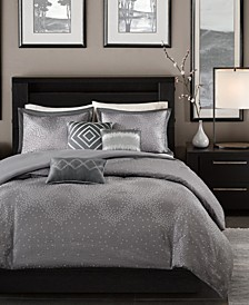 Quinn 6-Pc. King/California King Duvet Cover Set