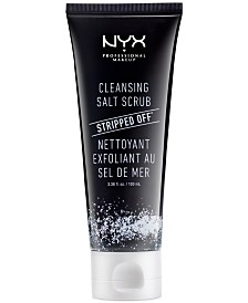 NYX Professional Makeup Stripped Off Cleansing Salt Scrub, 3.38 fl. oz.
