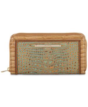 Brahmin Suri Turquoise Tiete Wallet 5996256