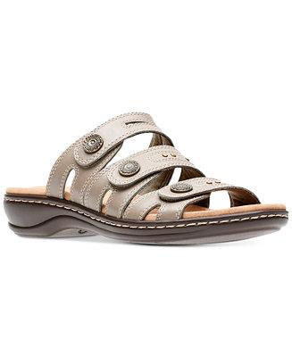 3c01913f5ba Clarks Collection Women s Leisa Lakia Sandals   Reviews - Sandals   Flip  Flops - Shoes - Macy s