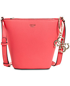 GUESS Flora Bucket Crossbody