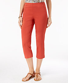 Style & Co Pull-On Capri Pants In Regular & Petite Sizes, Created for Macy's