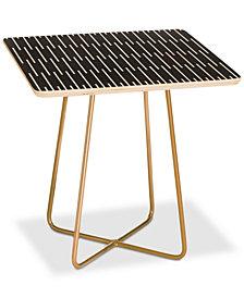 Deny Designs Caroline Okun Meridian Square Side Table