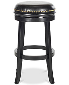 Harrix Swivel Stool, Quick Ship