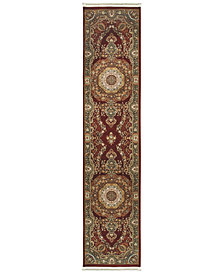"Oriental Weavers Masterpiece Corsica Red 2'3"" x 10' Runner"