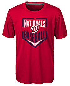 Outerstuff Washington Nationals Run Scored Poly T-Shirt, Big Boys (8-20)