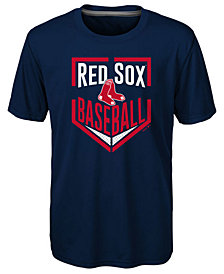 Outerstuff Boston Red Sox Run Scored T-Shirt, Little Boys (4-7)