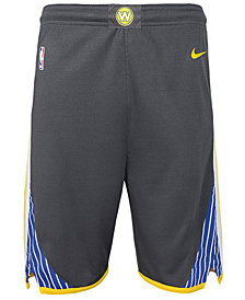Outerstuff Golden State Warriors Statement Swingman Shorts, Big Boys (8-20)