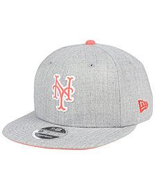 New Era New York Mets Heather Hype 9FIFTY Snapback Cap