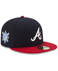 New Era Atlanta Braves Jackie Robinson Day 59FIFTY FITTED Cap