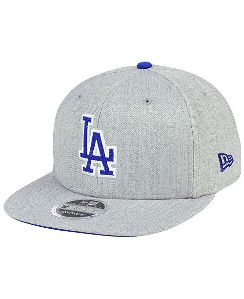 new style b5348 8ea05 New Era Los Angeles Dodgers Heather Hype 9FIFTY Snapback Cap ...