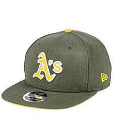 New Era Oakland Athletics Heather Hype 9FIFTY Snapback Cap