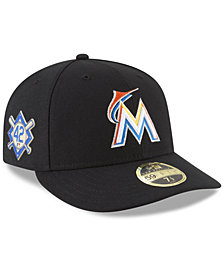 New Era Miami Marlins Jackie Robinson Day Low Profile 59FIFTY FITTED Cap