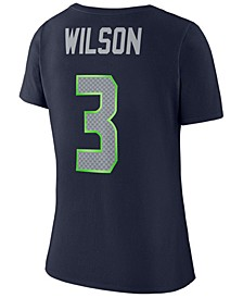 Women's Russell Wilson Seattle Seahawks Player Pride 3.0 T-Shirt