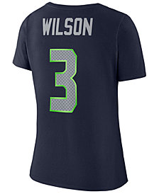Nike Women's Russell Wilson Seattle Seahawks Player Pride 3.0 T-Shirt