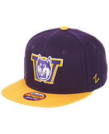 Zephyr Boys' Washington Huskies Invert Snapback Cap