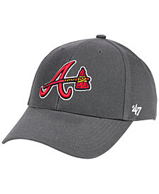 '47 Brand Atlanta Braves Charcoal MVP Cap
