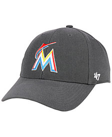 '47 Brand Miami Marlins Charcoal MVP Cap
