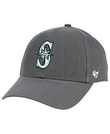 '47 Brand Seattle Mariners Charcoal MVP Cap