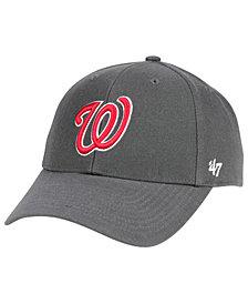 '47 Brand Washington Nationals Charcoal MVP Cap