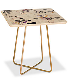 Deny Designs Iveta Abolina Woodland Dream Square Side Table