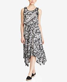 Lauren Ralph Lauren Paisley Cotton Dress