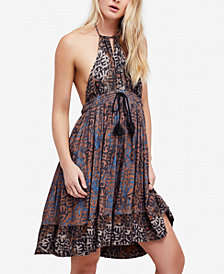 Free People Beach Day Halter Dress
