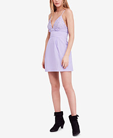 Free People We Go Together Mini Dress