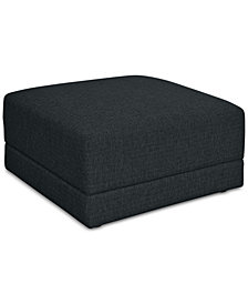 Mylie Fabric Ottoman - Custom Colors, Created For Macy's