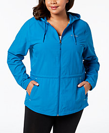 Columbia Plus Size Omni-Shade® UPF 30 Sandy River Jacket