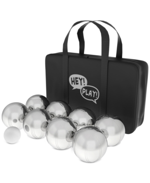 10-Pc. Petanque/Boules For Bocce Game