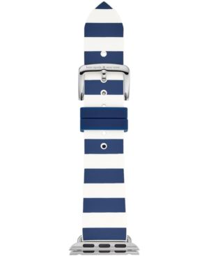 Apple Watch Silicone Strap, 25Mm in Blue/ Green/ Pink/ White