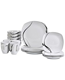 Carnival 16-Pc. Dinnerware Set, Service for 4