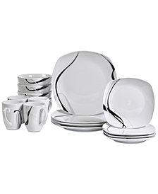 Tabletops Unlimited Carnival 16-Pc. Dinnerware Set, Service for 4