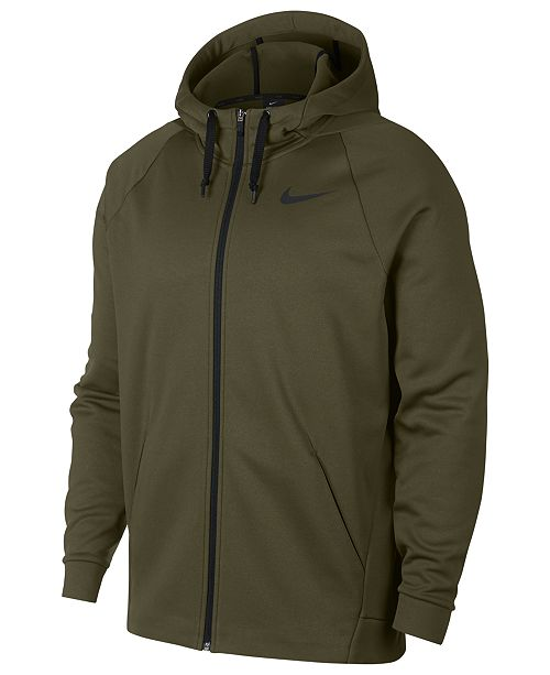 f9b2af60cb Nike Men s Therma Training Full Zip Hoodie   Reviews - Hoodies ...