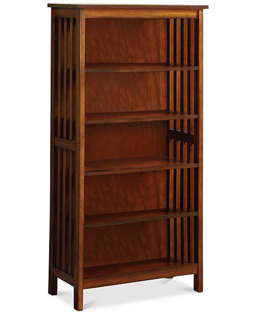 Venetian Worldwide Quinsy Bookcase, Quick Ship