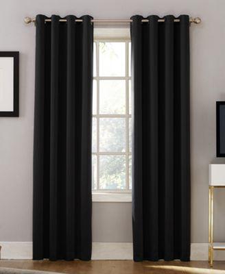 "Oslo 52"" x 63"" Theater Grade 100% Blackout Grommet Curtain Panel"