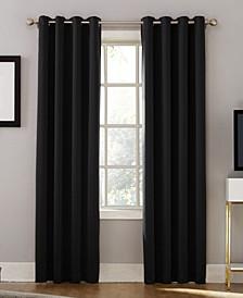 "Oslo 52"" x 84"" Theater Grade 100% Blackout Grommet Curtain Panel"