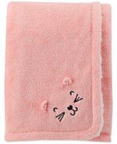 Carters Baby Girls Plush Blanket